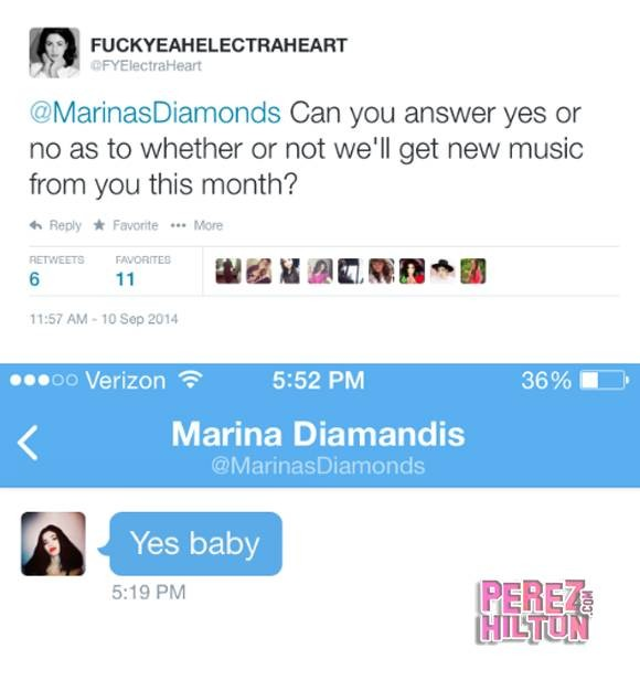 Marina and the Diamonds Confirm New Music Release This Month? | Marina and the Diamonds