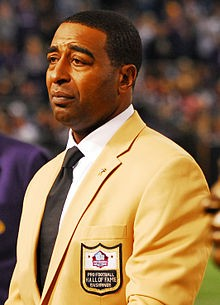 ESPN Analyst And Hall Of Famer Cris Carter Gives Emotional Speech On Domestic Violence | Cris Carter
