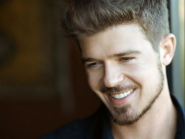 Robin Thicke Admits To Not Writing