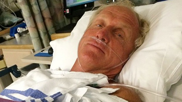 Golfer Greg Norman Survives Chainsaw Accident | Greg Norman
