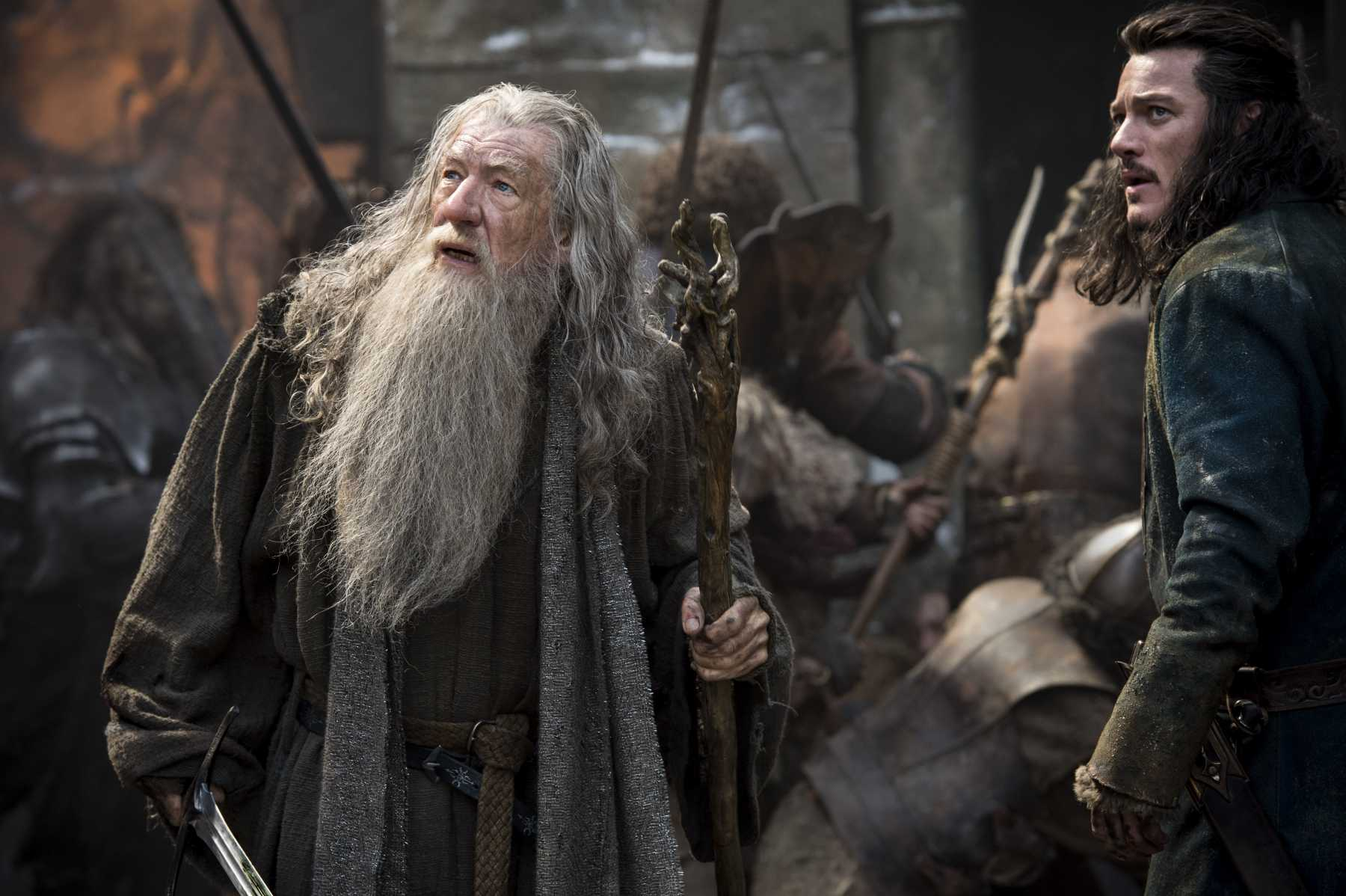 Action-Packed Tapestry Poster Debuts For 'The Hobbit: The Battle Of The Five Armies' | The Hobbit