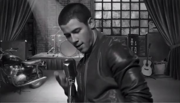 Nick Jonas And Girlfriend Olivia Culpo Star In Music Video For
