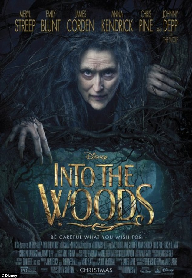 Meryl Streep Gets Witchy In New Into The Woods Poster | Meryl Streep