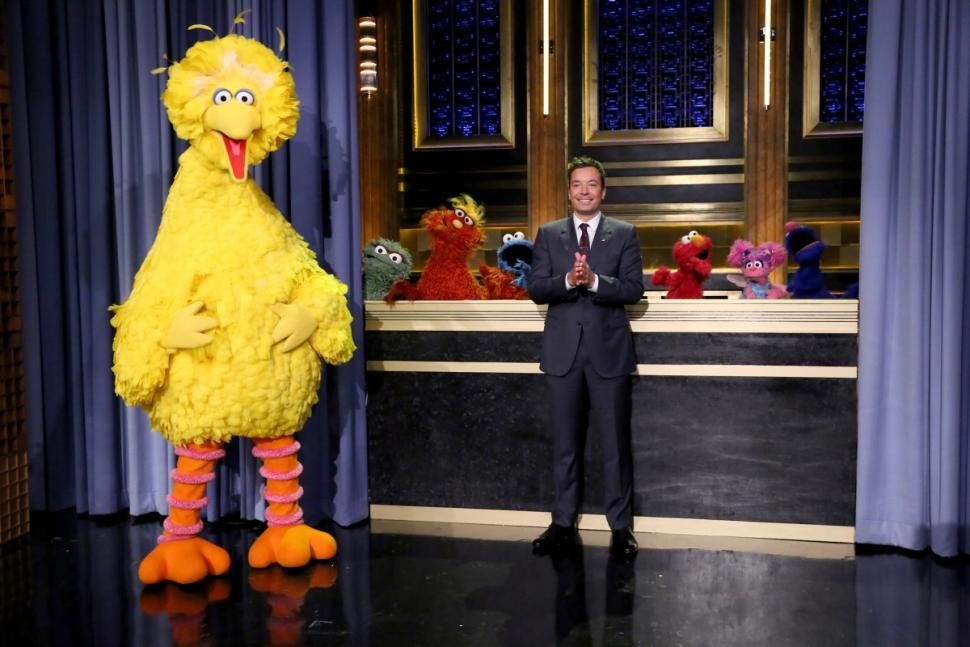 Cast Of Sesame Street Read Childhood Tweets On Fallon | Sesame Street