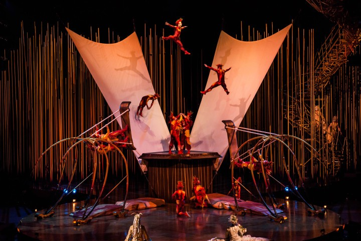Experience The Magic At Cirque Du Soleil's Varekai Production | Varekai