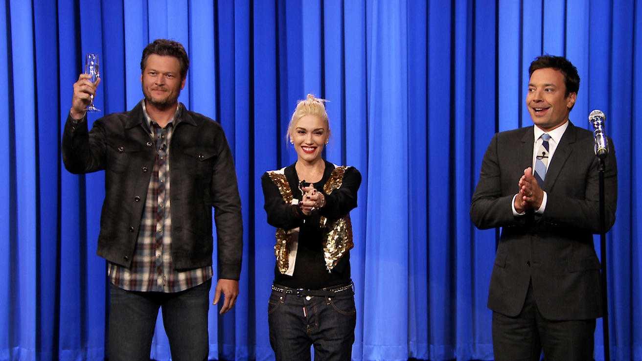 Jimmy Fallon Faces Off Against Blake Shelton And Gwen Stefani In An Epic Lip Sync Battle   Jimmy Fallon