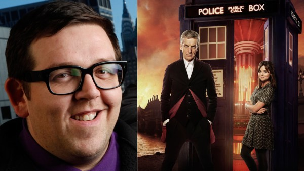 Nick Frost Will Be Bringing A Chill To The TARDIS For The Doctor Who Christmas Special | Nick Frost