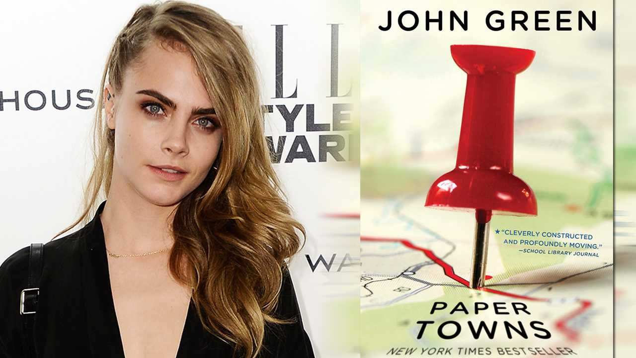 Cara Delevingne Cast In Upcoming Paper Towns Movie | Cara Delevingne