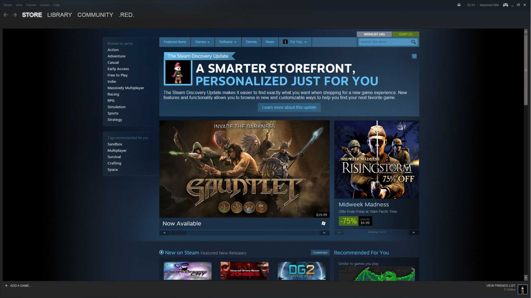Wonder-Program Steam Hits 100 Million Users And Adds 'Curators' | steam