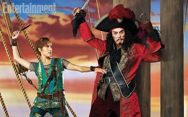 We Love Christopher Walken As Captain Hook In 'Peter Pan Live' | captain hook