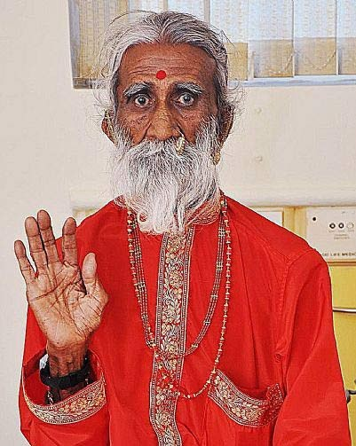 Holy Man Claims He's Gone 70 Years Without Food Or Water | holy man
