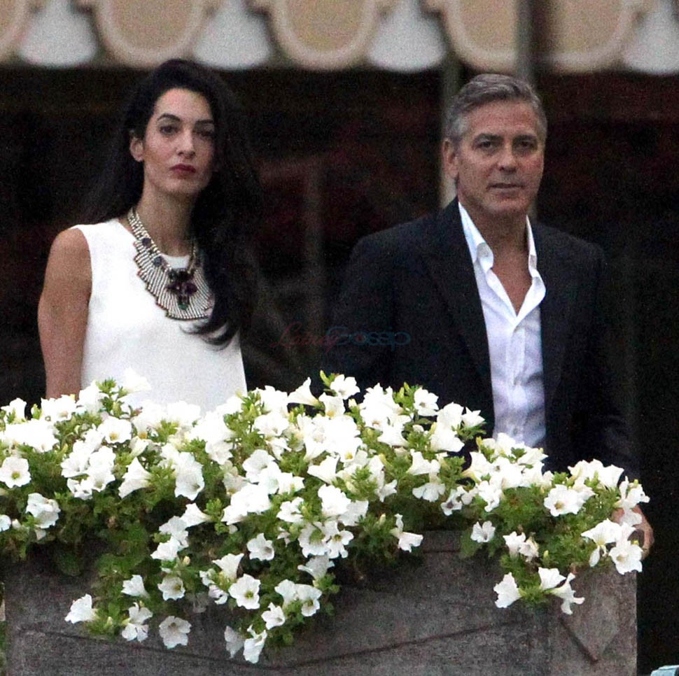 George Clooney And Amal Alamuddin Tie The Knot In Venice Weekend Wedding | George Clooney