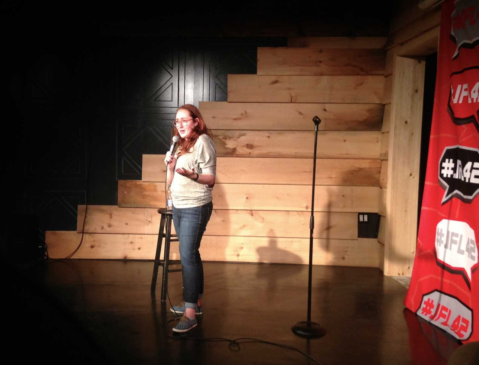 JFL42 Diaries: Emily Heller, Sara Hennessey & Graham Kay In An L-Shaped Room | JFL42