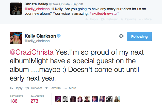 Kelly Clarkson Has A New Album In The Works For Early 2015 | kelly clarkson
