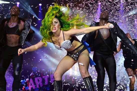 Lady Gaga Pauses Concert To Break Up Fight In The Crowd | Lady Gaga