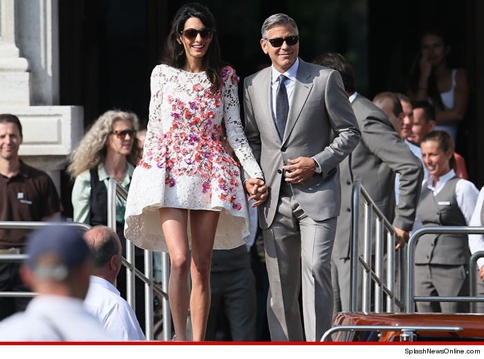 Introducing Mr & Mrs. George Clooney!  | George Clooney