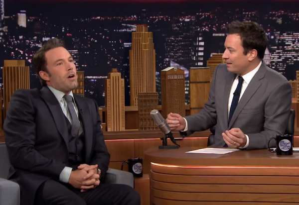 Ben Affleck Sings 'Let It Go'--Terribly--On 'The Tonight Show' | Ben Affleck