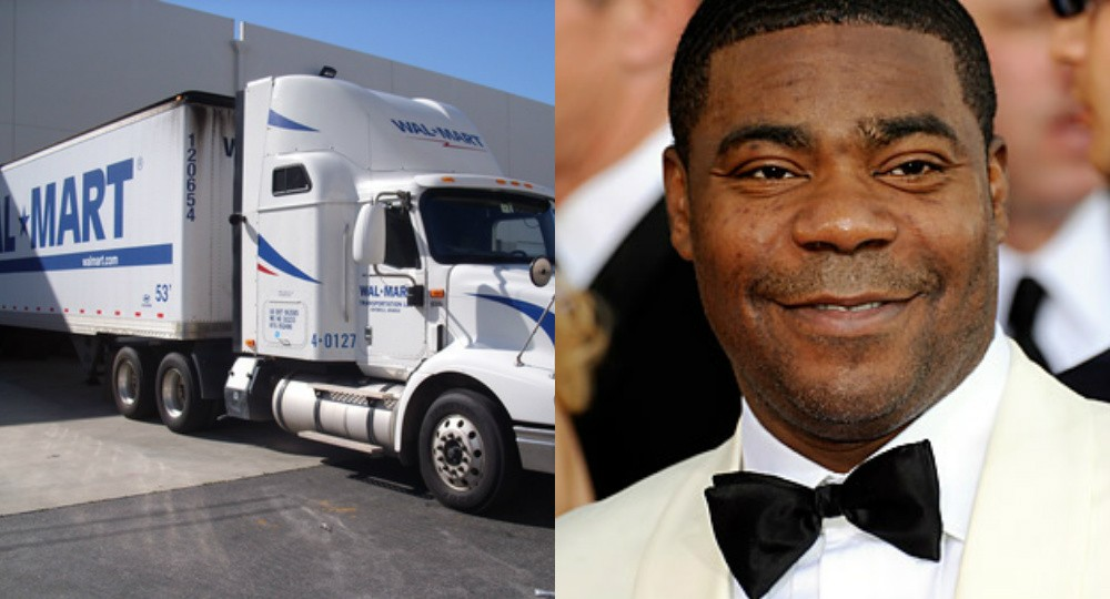 Wal-Mart Claims Tracy Morgan Was Completely At Fault In Car Accident | Tracy Morgan