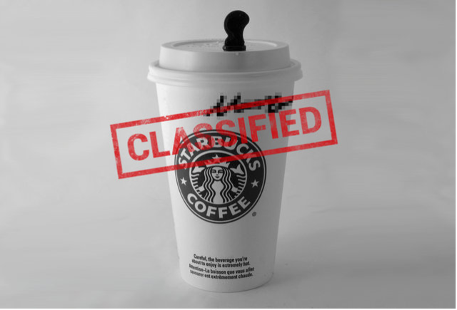 Get In Line At The World's Busiest And Most Secret Starbucks - Deep Inside The CIA | Stealthy Starbucks