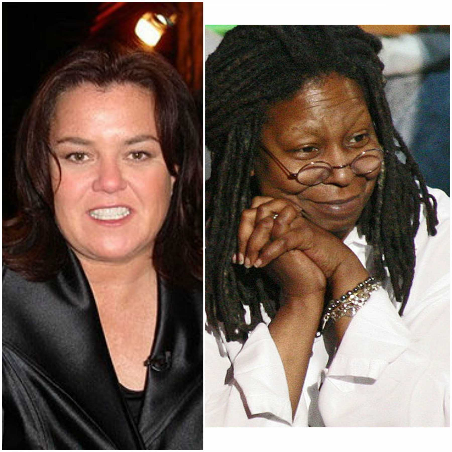 Rosie O'Donnell & Whoopi Goldberg Get Into MASSIVE Fight During Commercial Break On