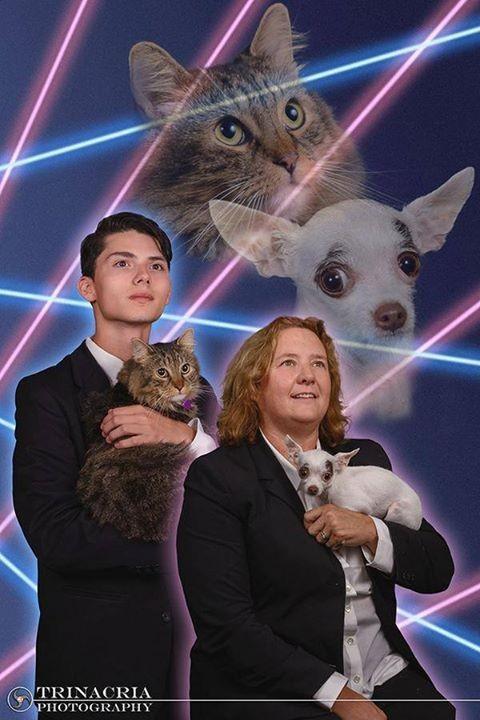 Awkward School Photos: Just Add Laser Cat | Laser Cat