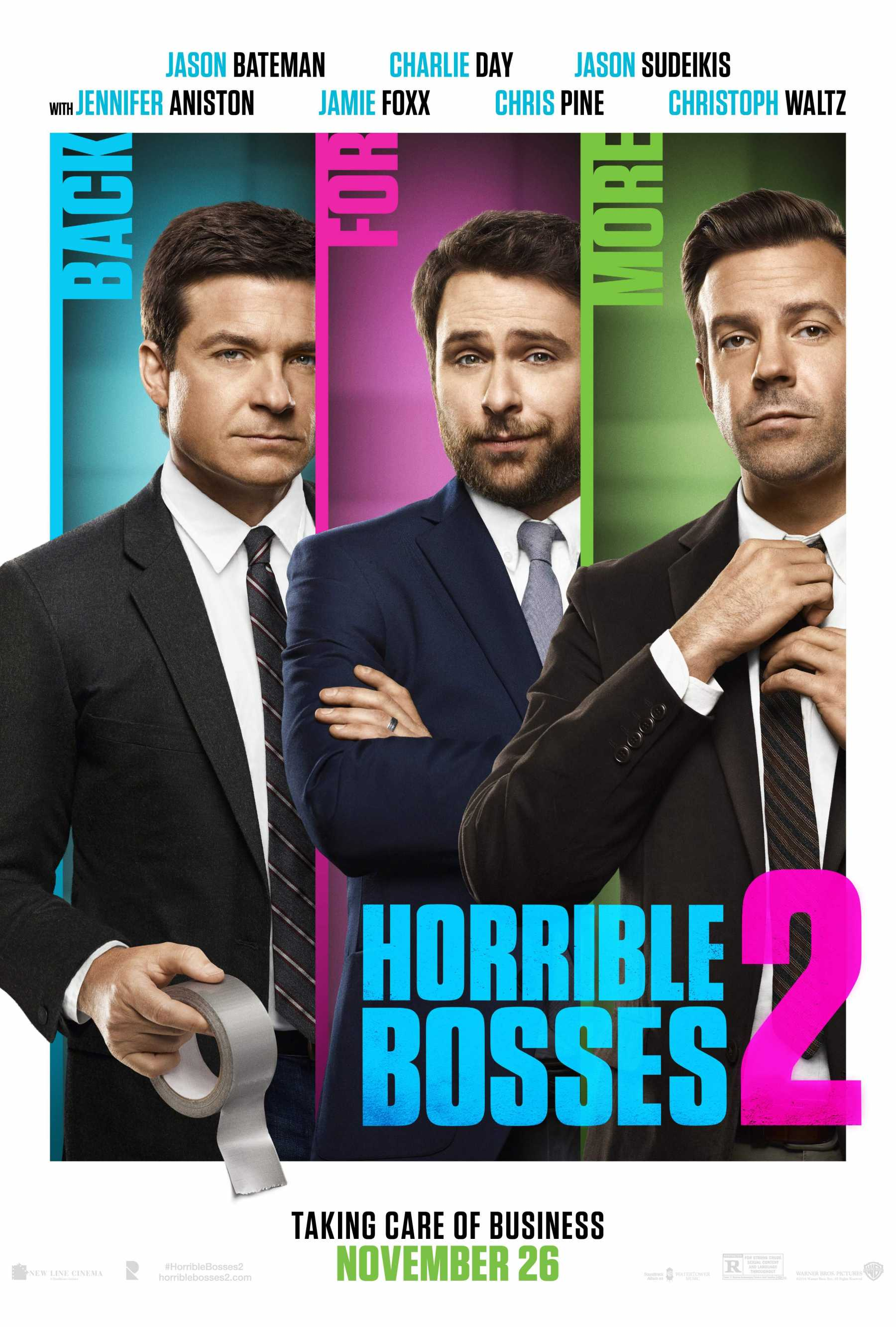 The Hysterical Trailer For 'Horrible Bosses 2' Has Arrived | horrible bosses 2
