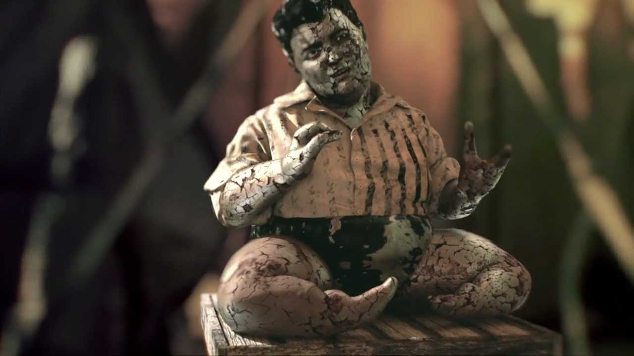 The 'AHS: Freak Show' Super Creepy Main Credits Are Here! | freak show