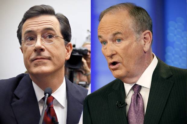 Bill O'Reilly Takes Issue With Stephen Colbert Mocking His Master Plan | bill o'reilly