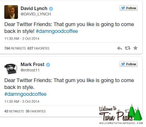 Mysterious Tweets Spark Rumors Of 'Twin Peaks' Revival | Twin peaks