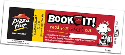 Pizza Hut Revives Book It! Program For Adults | Book It!