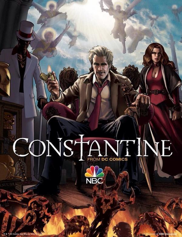 Constantine Gets Stills And Sneak Peek For Season 1 Pilot | constantine
