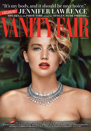 Jennifer Lawrence Breaks Her Silence, Speaks With Vanity Fair About Leaked Photos | Jennifer Lawrence