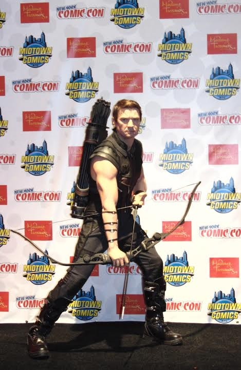 NYCC 2014: Madame Tussauds Teams Up With Marvel To Create A Hawkeye Wax Figure for His 50th Anniversary | Marvel