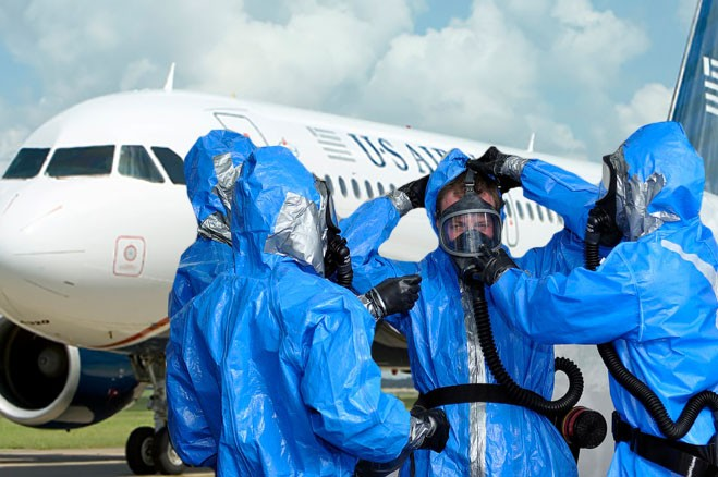 Plane Passenger Jokes About Having Ebola, Removed In Handcuffs | ebola
