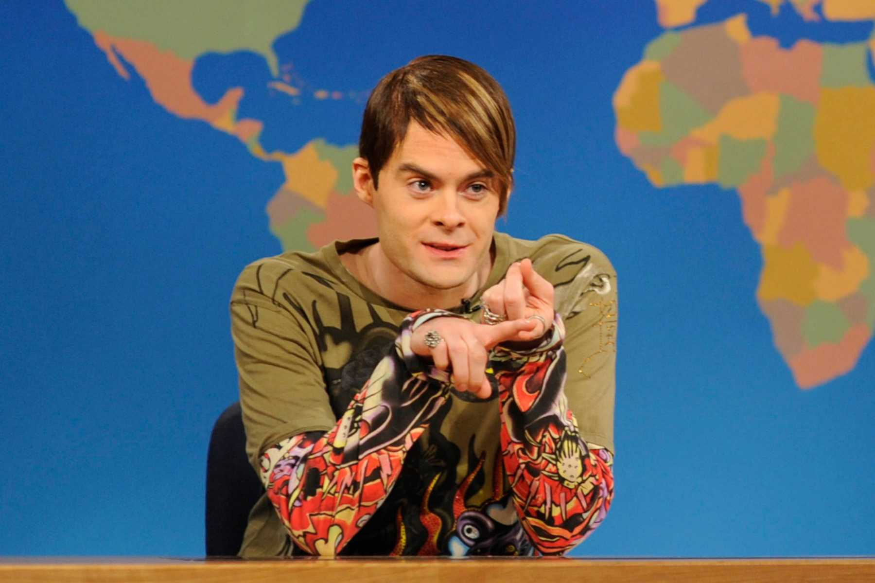 Bill Hader's Stefon Stops By Saturday Night Live's 'Weekend Update' | Bill Hader