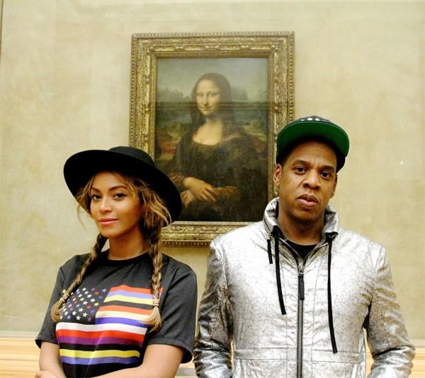Beyoncé and Jay Z Take Blue Ivy To The Louvre In Paris | Beyoncé