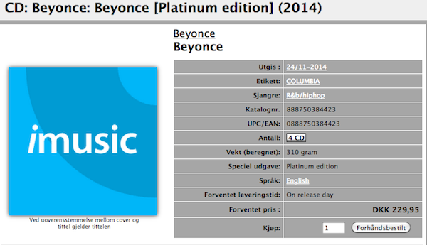 Is Queen Bey About To Release 4 Disc Set Of 'Beyoncé'? | Beyoncé