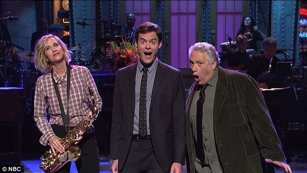 Bill Hader, Kristin Wiig And Harvey Fierstein Give SNL Audience Quite The Concert | Bill Hader