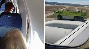 AA Boeing Makes Emergency Landing Due To Internal Damage | emergency