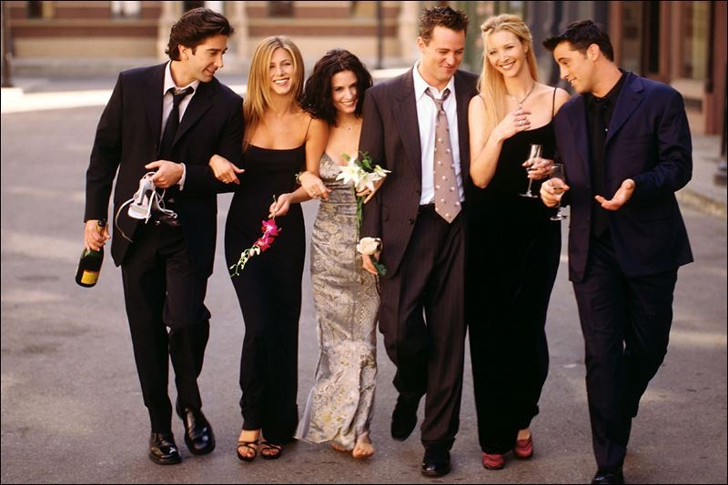 The Gang's Back Together: Netflix To Stream 'Friends' In 2015 | Friends