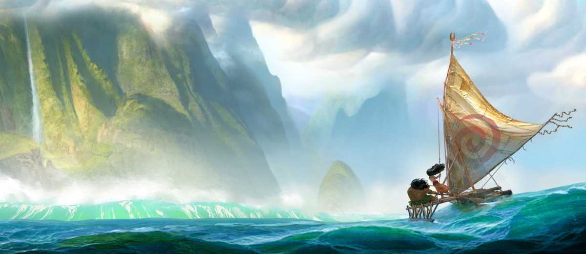 A Gorgeous First Glimpse At Disney's Upcoming Film, Moana | Moana