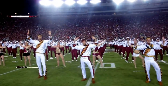 FSU Marching Band Covers Beyonce's