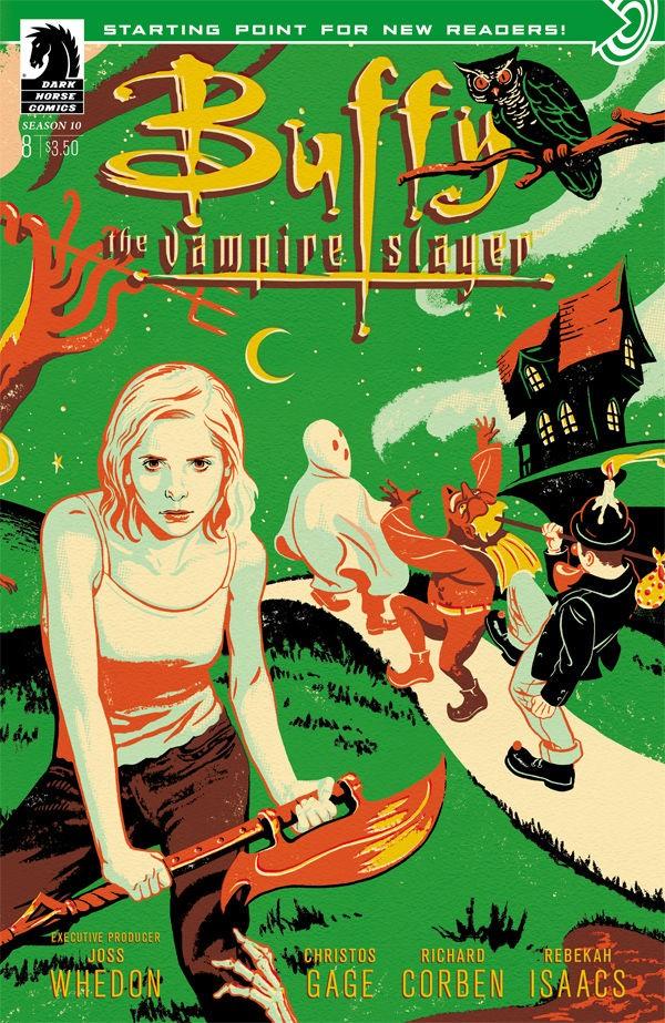 'Buffy The Vampire Slayer' Season 10 #8 Provides A Satisfying Halloween | Buffy The Vampire Slayer
