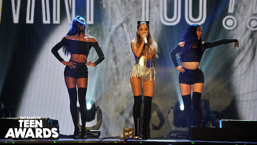 Ariana Grande Takes On Nicki Minaj's