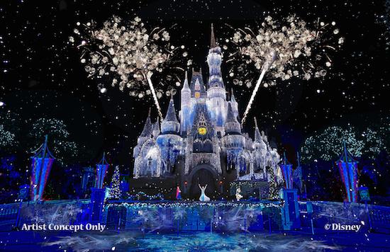 Frozen Holiday Show Will Illuminate Magic Kingdom | frozen holiday