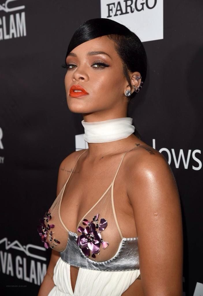 Stunning Rihanna Presents Award To Tom Ford At amfAR Gala | Rihanna