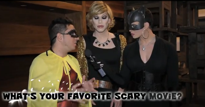 RuPaul's Drag Race Queens Re-enact Their Favorite Scary Movies | RuPaul's