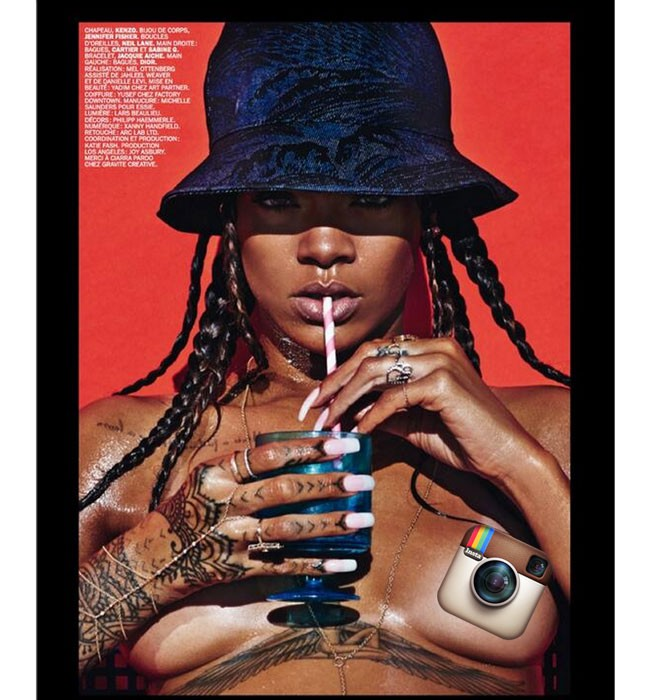 Rihanna, Queen Of Instagram Hath RIHturned To Her Throne | Rihanna