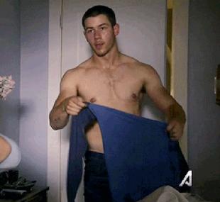Nick Jonas Gets Sexy on