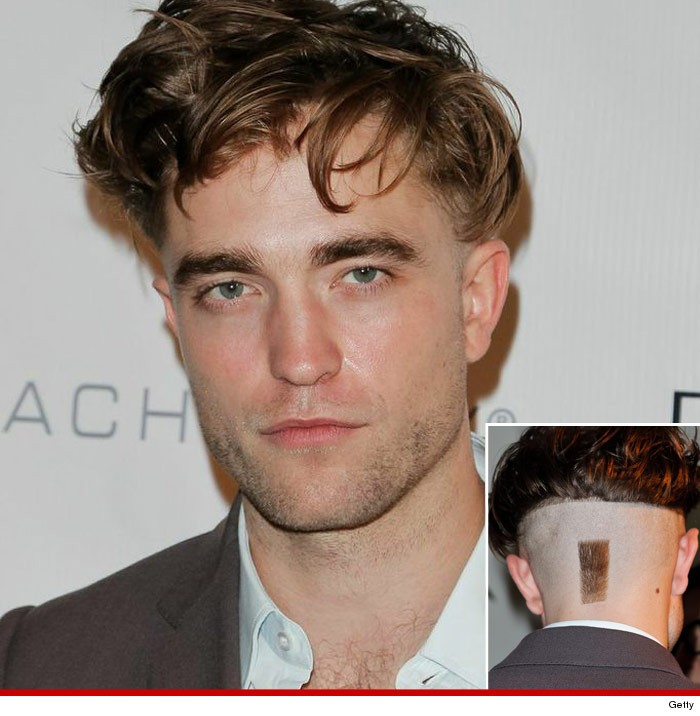 Robert Pattinson Unveils Strange New Hairstyle  | Robert Pattinson